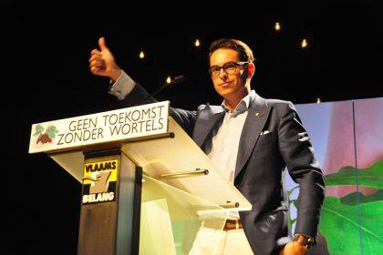 e98ca70bdb16 Tom Van Grieken verkozen tot nieuwe voorzitter – Vlaams Belang