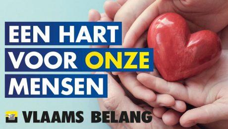 Vlaams Belang trapt met Valentijn 'Hart voor onze mensen'-campagne af