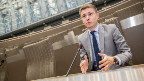 Filip Brusselmans voorzitter Vlaams Belang Jongeren
