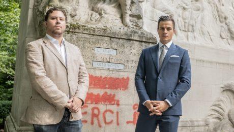 Vlaams Belang herstelt Congomonument en kaart Arabische slavenhandel terug aan