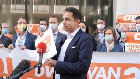 """Vlaams Belang verhoogt druk op CD&V: """"Dweil van de Wetstraat of niet?"""""""