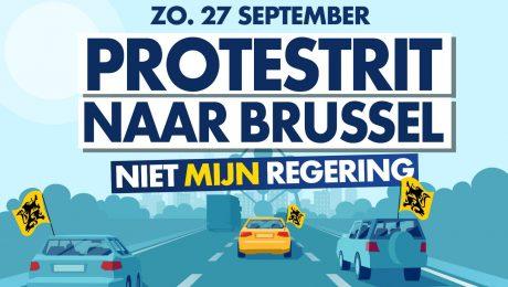 Vlaams Belang nodigt ook N-VA uit op protestrit tegen Vivaldi zondag