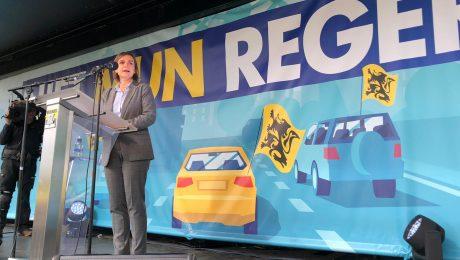 INTEGRAAL: Toespraak Pas op protestrit naar Brussel