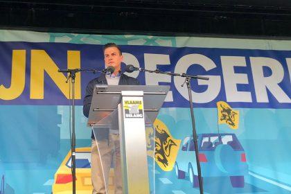 INTEGRAAL: Inleiding Van Langenhove op protestrit naar Brussel