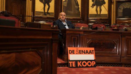 Vlaams Belang zet Senaat te koop op 2dehands.be