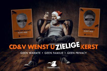 """Vlaams Belang Jongeren tegen """"Orwelliaanse afdwinging coronaregels"""