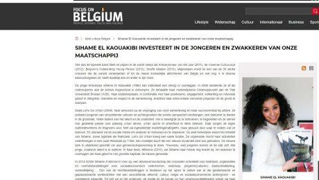 """Foto: El Kaouakibi prijkt als rolmodel op overheidswebsite: """"Had nooit mogen gebeuren"""""""
