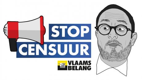 """Vlaams Belang lanceert na Voorpost-vonnis mailcampagne naar Van Quickenborne: """"Stop censuur"""""""