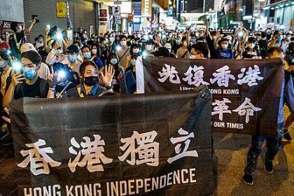 Eerste veroordeling voor oppositie in Hongkong